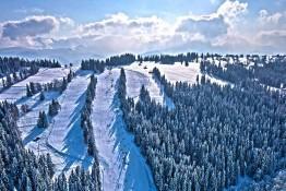 Poronin Atrakcja Stacja narciarska Suche