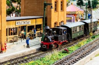 Wrocław Atrakcja Park tematyczny Kolejkowo - cudowny świat w miniaturze
