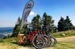 Muszyna Atrakcja Wypożyczalnia rowerów Turbobikes Rowery Elektryczne