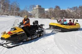 Zakopane Atrakcja Snow Rafting Snowdoo Rafting
