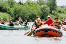 Sanok Atrakcja Spływ pontonowy Bieszczady Aktywnie