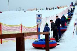 Szymbark Atrakcja Snowtubing Koszałkowo-Wieżyca