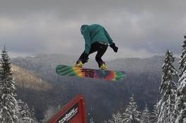 Poręba Wielka Atrakcja Szkoła snowboardowa Koninki
