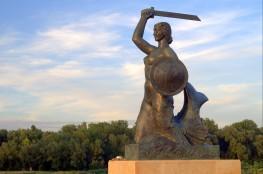 Warszawa Atrakcja Pomnik Pomnik Syrenki na Powiślu