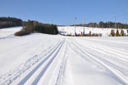 Niestachów Atrakcja Narciarstwo biegowe Niestachów