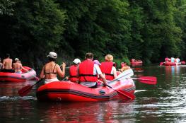 Bardo Atrakcja Spływ pontonowy Ski-Raft