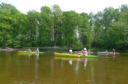 Warka Atrakcja Spływ kajakowy Kajaki Warka