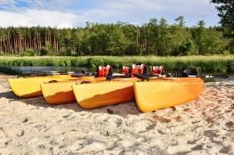 Inowłódz Atrakcja Spływ kajakowy Kajaki Plaża