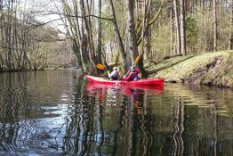Borne Sulinowo Atrakcja Spływ kajakowy Kajakiborne