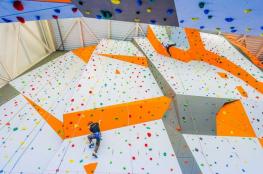 Tarnowskie Góry Atrakcja Ścianka wspinaczkowa Ścianka Wspinaczkowa w Hali Sportowej