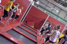 Katowice Atrakcja Trampoliny Jump World