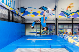 Wrocław Atrakcja Trampoliny Jump Hall
