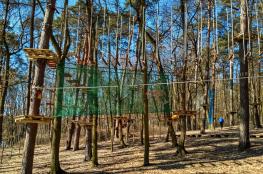 Szczecin Atrakcja park linowy Tarzania
