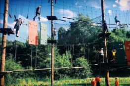 Chorzów Atrakcja park linowy Silesia