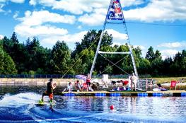 Zagnańsk Atrakcja Wakeboarding Wakeport Kaniów