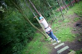 Wieliczka Atrakcja park linowy Xtreme Park