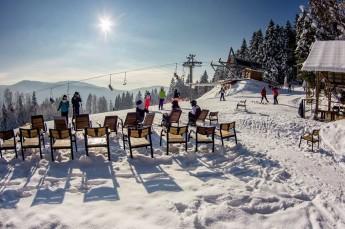 Tylicz Atrakcja Stacja narciarska Tylicz Ski