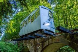 Krynica-Zdrój Atrakcja Kolej linowa Kolej linowa na Górę Parkową