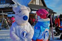 Krynica-Zdrój Atrakcja Przedszkole narciarskie Akademia Misia Polarnego