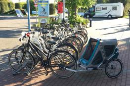 Kołobrzeg Atrakcja Wypożyczalnia rowerów CampoBike