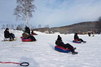 Karpacz Atrakcja Snowtubing Saneczkowa Góra