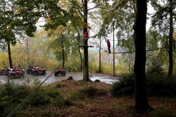Wisła Atrakcja park linowy BC Cross