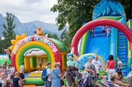 Zakopane Atrakcja Park rozrywki Letnia Zabawa dla dzieci