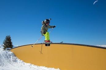 Ustroń Atrakcja Snowpark Raven Park Poniwiec