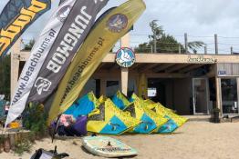 Chałupy Nocleg Pole namiotowe Beach Bums
