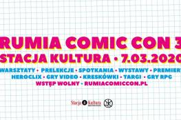 Rumia Wydarzenie Kulturalne Rumia Comic Con 3   Stacja Kultura