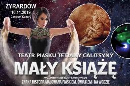 Żyrardów Wydarzenie Spektakl Teatr Piasku - Mały Książę