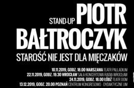 Łódź Wydarzenie Kabaret Piotr Bałtroczyk - Mężczyzna z kijowym peselem