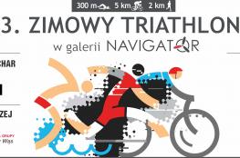 Mielec Wydarzenie Triathlon Zimowy Triathlon w Galerii Navigator