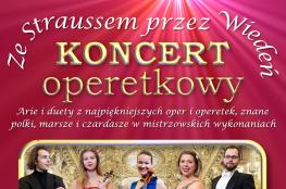 Sieradz Wydarzenie Koncert Koncert operetkowy - Ze Straussem przez Wiedeń