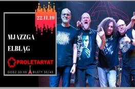 Elbląg Wydarzenie Koncert Proletaryat - Mjazzga - Elbląg