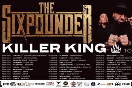 Elbląg Wydarzenie Koncert The Sixpounder - Killer King Tour 2019