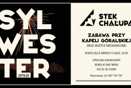 Zakopane Wydarzenie Sylwester Sylwester 2019/2020 - Stek Chałupa | Zakopane