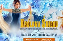 Karpacz Wydarzenie Spektakl Teatr Piasku Tetiany Galitsyny Królowa Śniegu