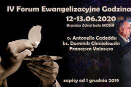 Krynica-Zdrój Wydarzenie Spotkanie IV Forum Ewangelizacyjne Godzina Miłosierdzia