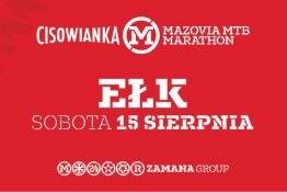 Ełk Wydarzenie Zawody rowerowe Ełk Cisowianka Mazovia MTB Marathon