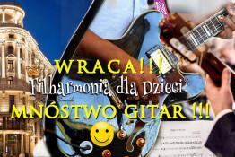 Warszawa Wydarzenie Koncert GITARY GITARY !!! Już 30 sierpnia w Hotelu Bristol