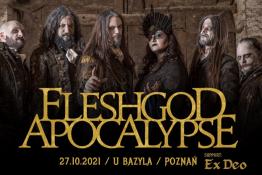 Poznań Wydarzenie Koncert Fleshgod Apocalypse + supports