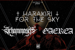 Warszawa Wydarzenie Koncert Harakiri For The Sky + Schammasch, Gaerea