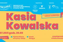 Krynica-Zdrój Wydarzenie Koncert KŹK 2021 :: Kasia Kowalska