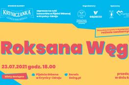 Krynica-Zdrój Wydarzenie Koncert KŹK 2021 :: Roksana Węgiel