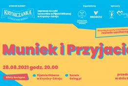 Krynica-Zdrój Wydarzenie Koncert KŹK 2021 :: Muniek i Przyjaciele