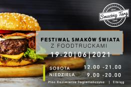 Elbląg Wydarzenie Festiwal Festiwal Smaków Świata z Food Truckami w Elblągu