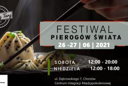 Wydarzenie Festiwal Festiwal Pierogów Świata w Chorzowie 26-27 czerwca