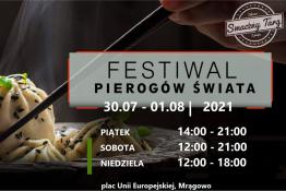 Mrągowo Wydarzenie Festiwal Festiwal Pierogów Świata w Mrągowie 30.07-01.08