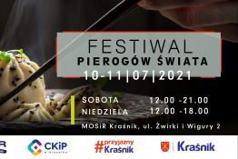 Kraśnik Wydarzenie Festiwal Festiwal Pierogów Świata w Kraśniku 10-11.07.2021